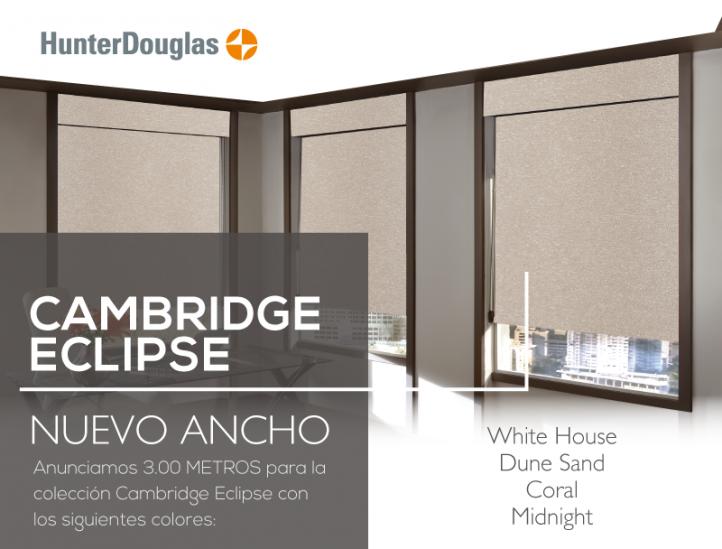 Cambridge Eclipse: Nuevas medidas