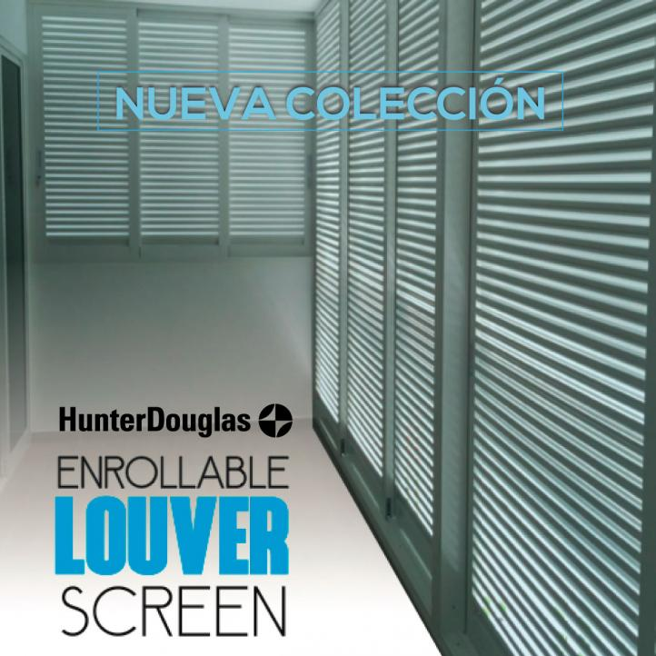 Cortinas Louver Screen