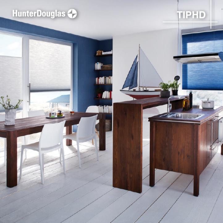 Azul en la decoración de tu cocina