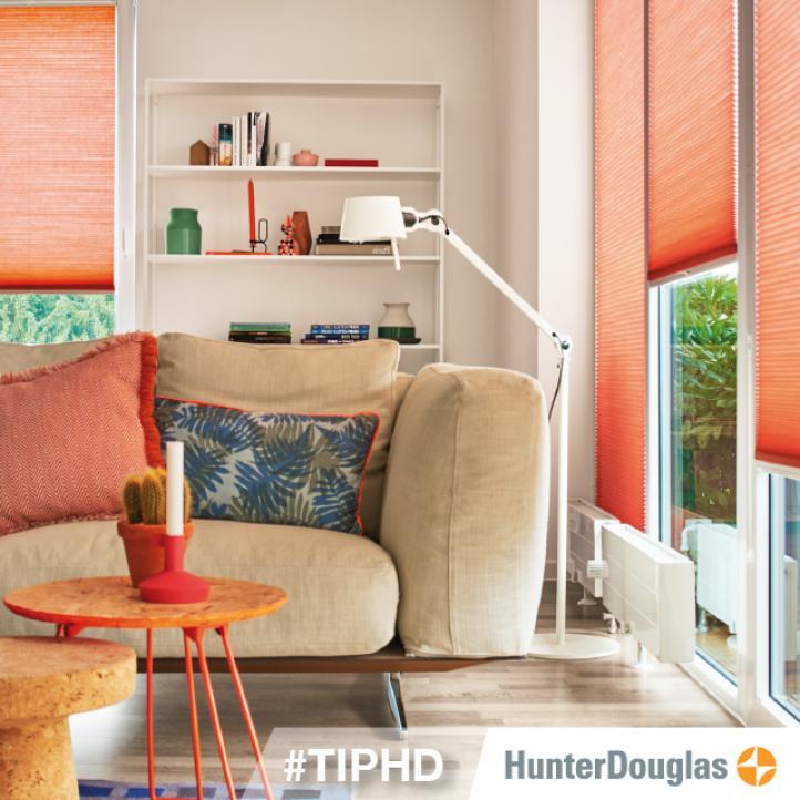 El color naranja en la decoración