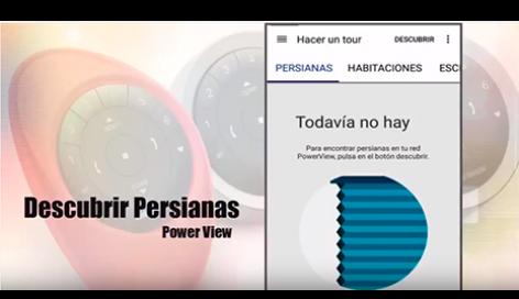 Asocia tus cortinas y persianas con la App PowerView™