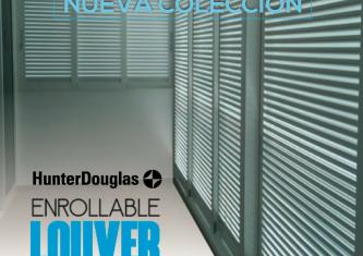 Enrollable Louver Screen