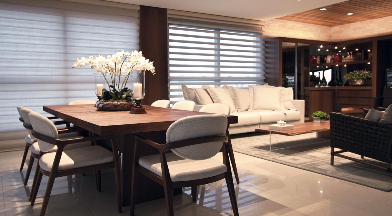 Apartamento Londrina - Cortinas Pirouette