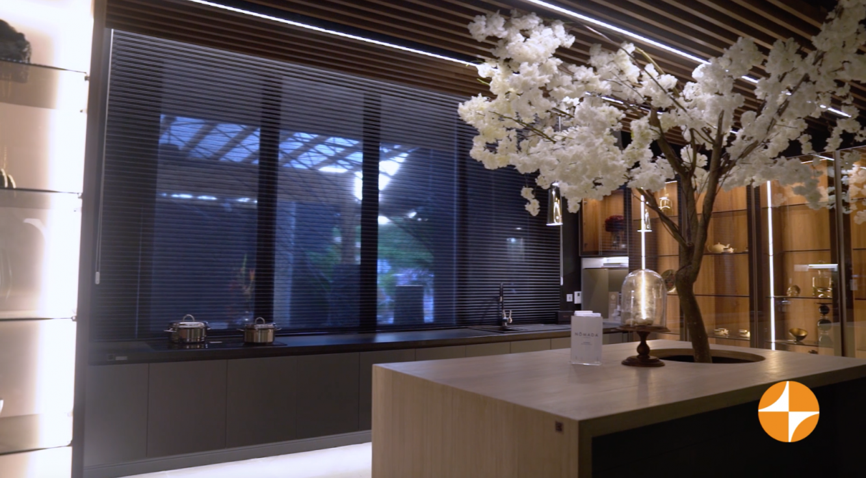 La cocina y El árbol - Cortinas Duette