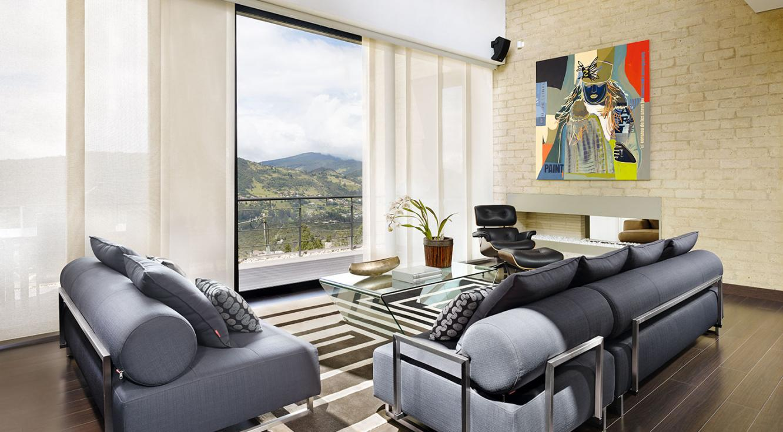 Residencial Bogota - Cortinas Panel Glide